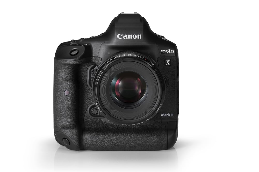 Canon EOS 1DX mark III with 50mm f/1.2 lens