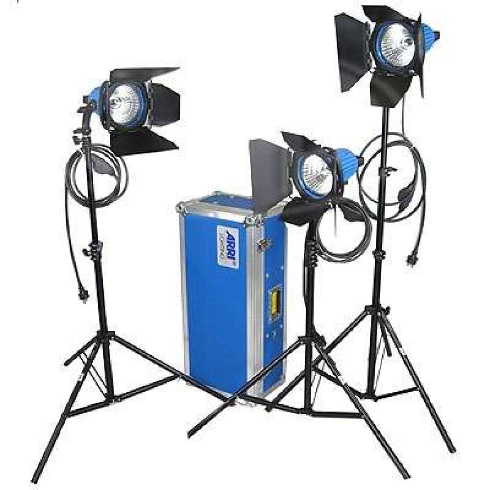 Arri 750w Plus 3 Head Kit