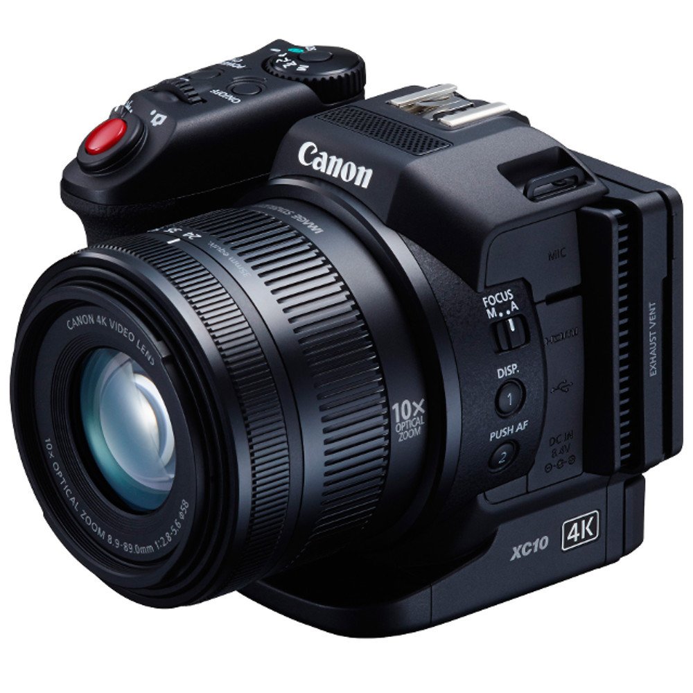Canon XC10 4K Compact Camcorder