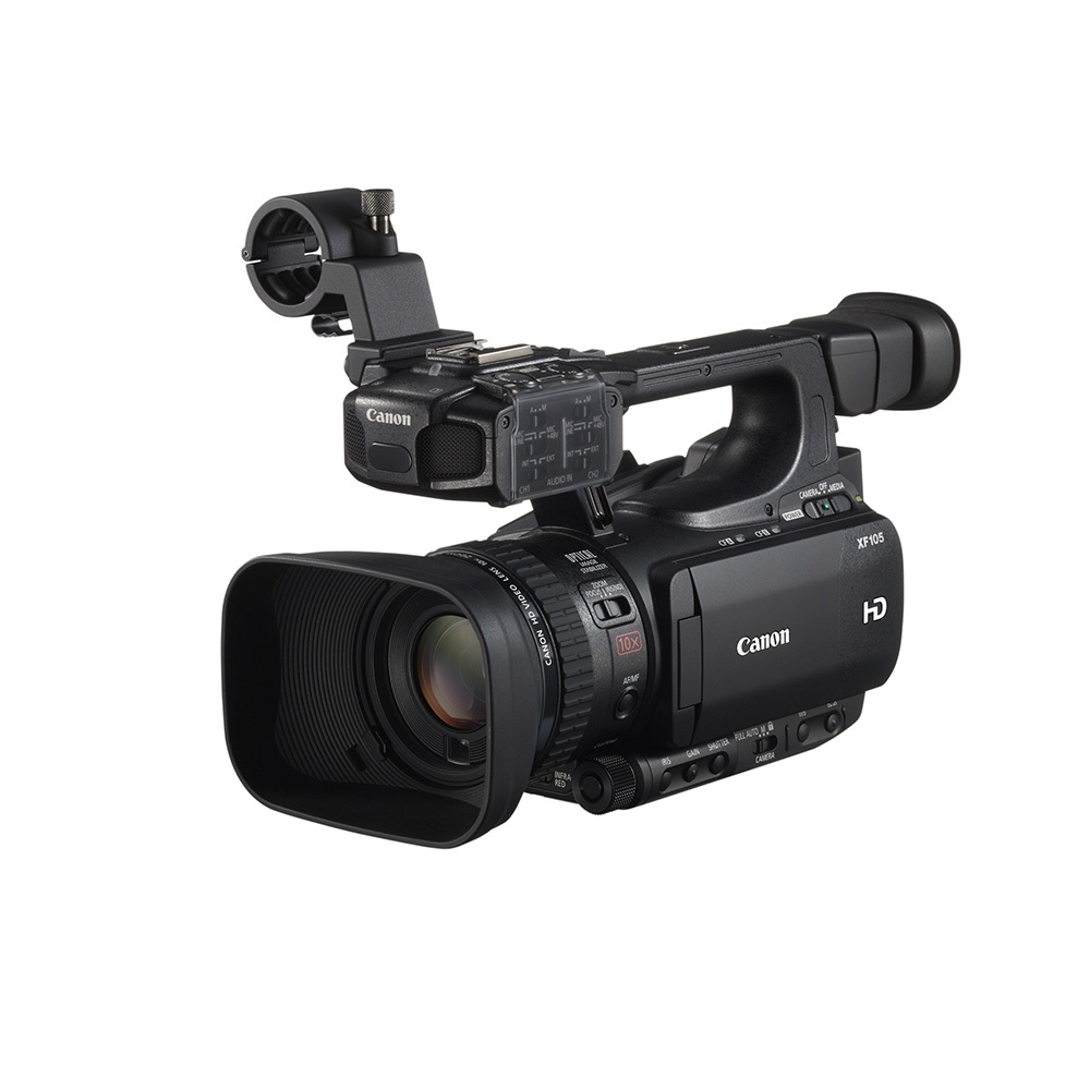 Canon XF105 HDV Camcorder | Hire | Rent ...