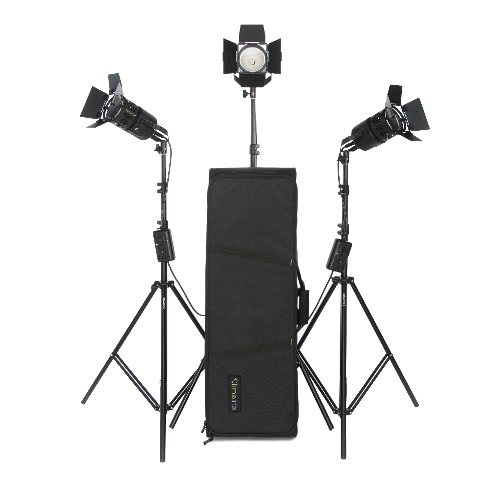 Limelite Pixel 300w 3 Head Kit (Tungsten)