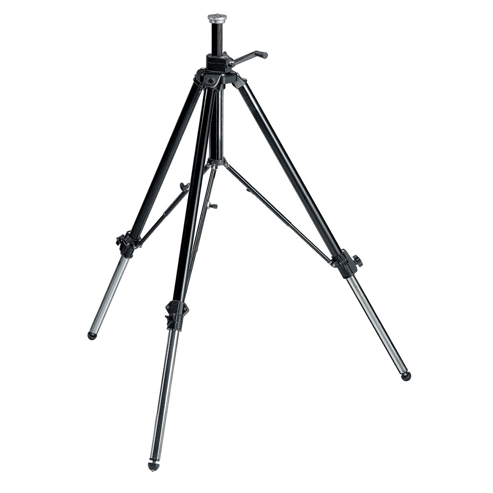Manfrotto 117B + MVH502AH Video Tripod