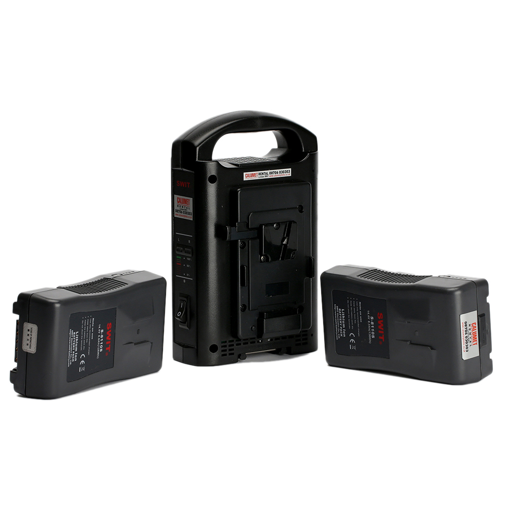 Swit V-Lock Kit inc. 2xBatteries and Dual Charger