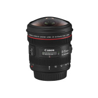 Hire Canon EF 8-15mm f/4L Fisheye USM
