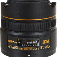 Nikon Modified 10.5mm AF DX