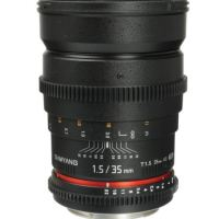 Samyang 35mm T1.5 AS UMC Lens - Canon Fit