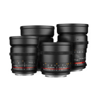 Samyang Cine lens Kit (EF fitting)