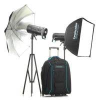 Broncolor Siros 800 L WiFi / RFS2.1 Outdoor Twin Head Kit 2